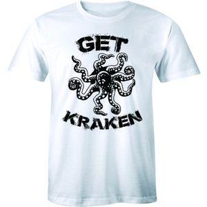 Lets Get Kraken Funny Sea Monster Mystical T-shirt